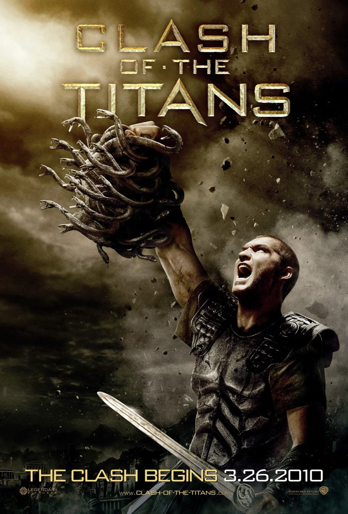 Film poster of Clash of the Titans