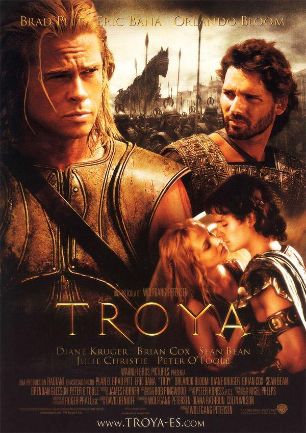Film poster of Troy (2004).